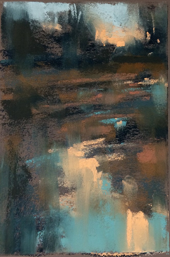 """By Dusk"" original fine art by Marla Baggetta"