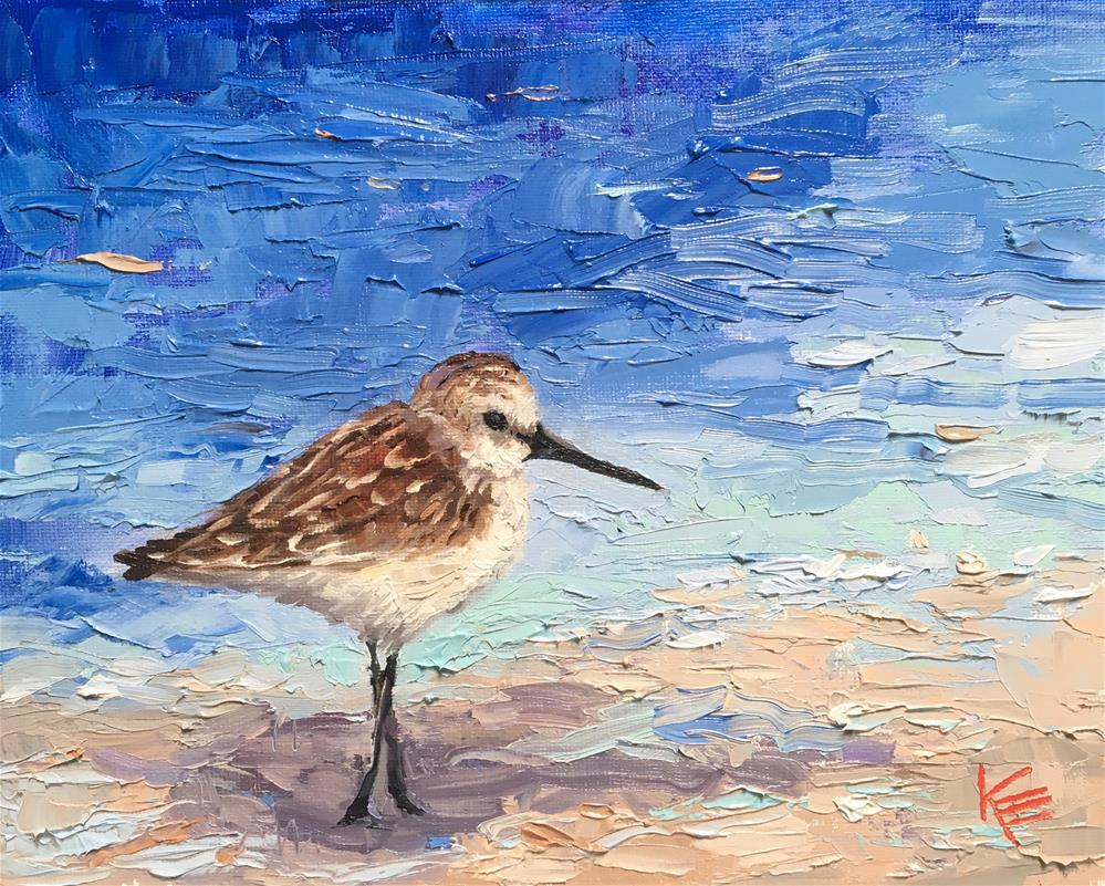 """Salty Moment"" original fine art by Krista Eaton"