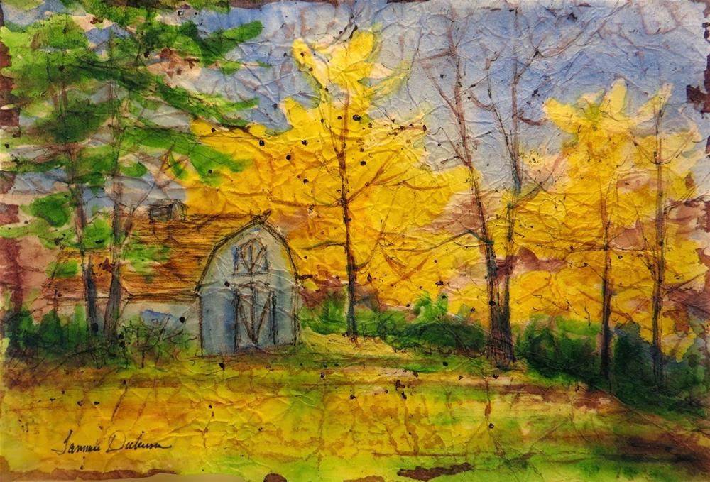 """Dad's Shed"" original fine art by Tammie Dickerson"