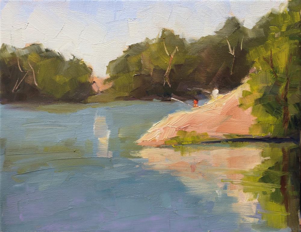 """Quiet Morning"" original fine art by Naomi Bautista"