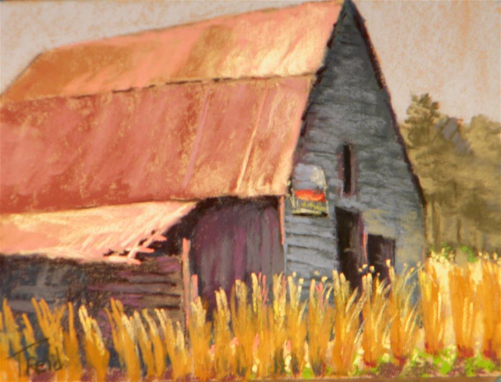 """North Georgia farm"" original fine art by Toby Reid"