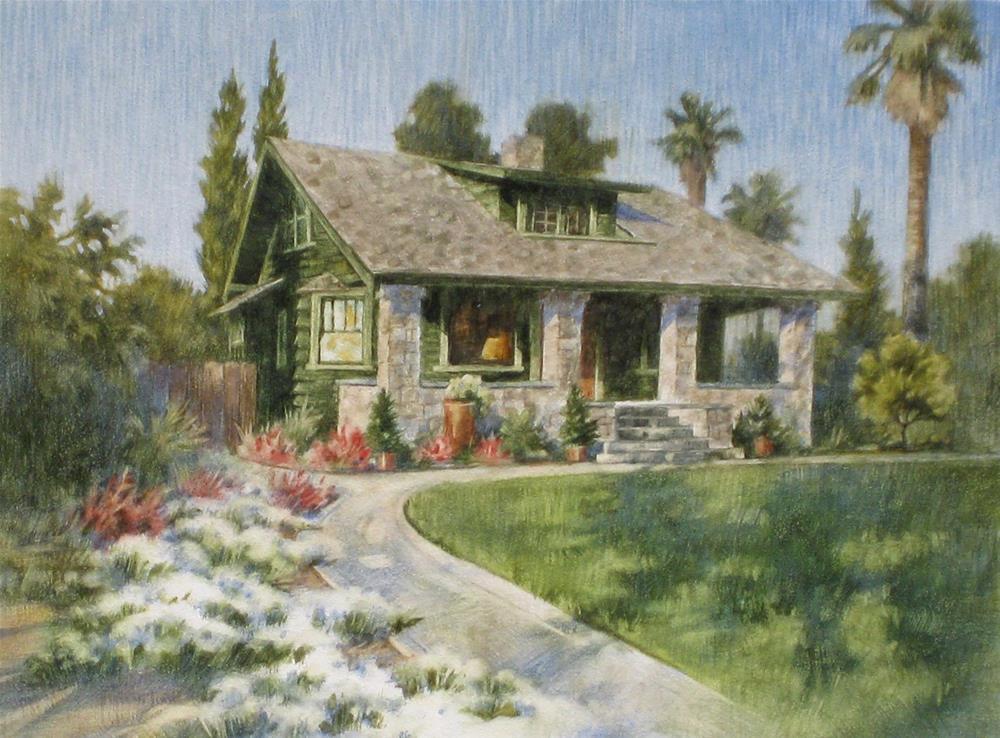 """The Hauter House"" original fine art by Ginger Pena"
