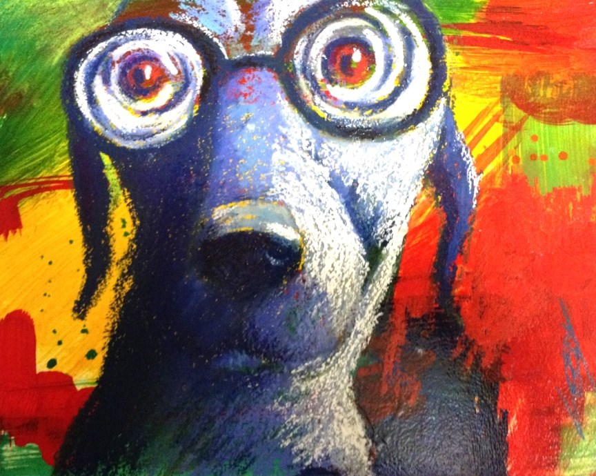 """I Can See Clearly Now"" original fine art by Jeff Leedy"