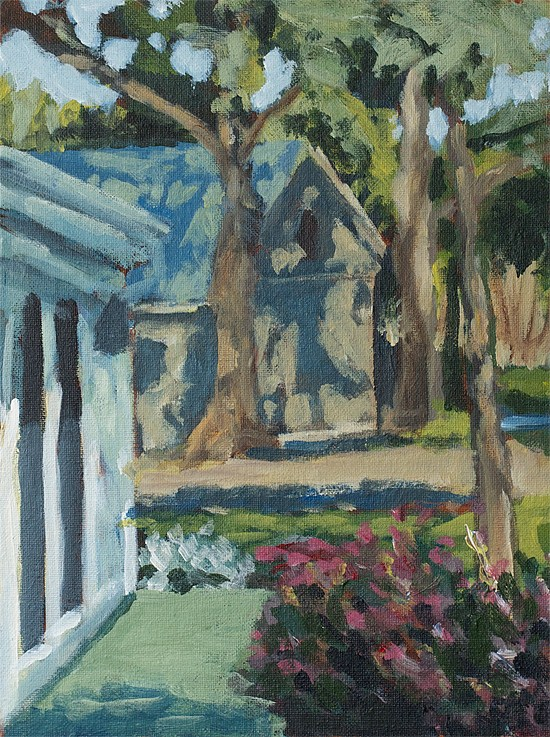 """Sonoma Studio"" original fine art by J. Farnsworth"