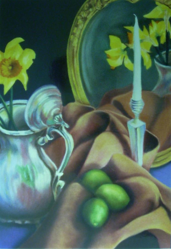 """For Amy"" original fine art by Karen Collins"