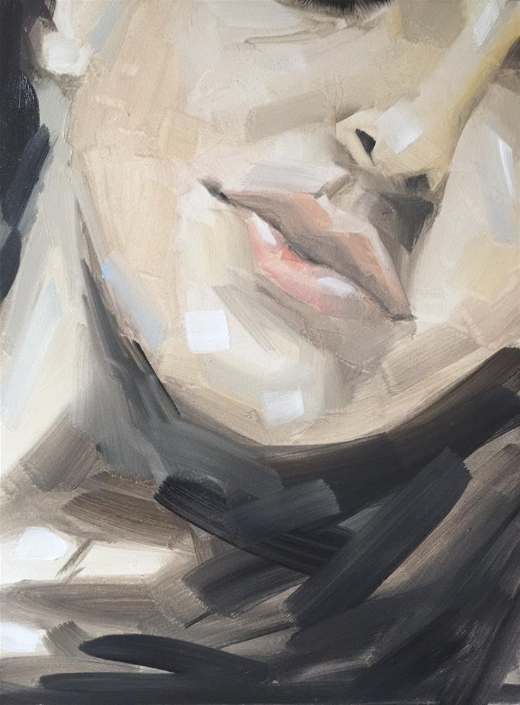"""""""438 In My Head"""" original fine art by Jenny Doh"""