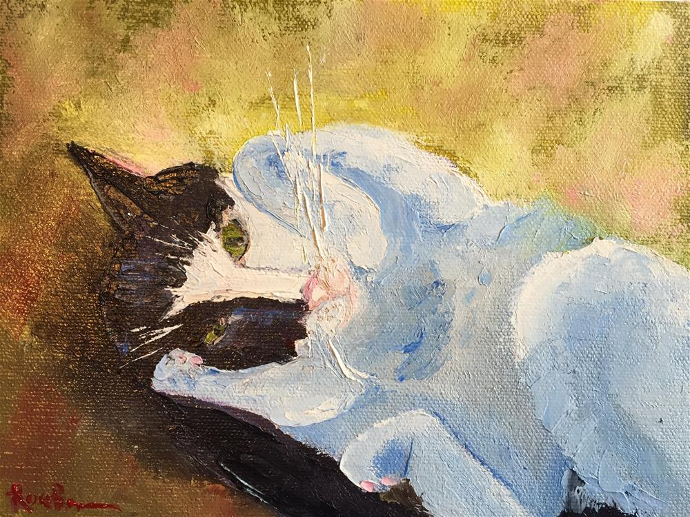 """Sorry......."" original fine art by Rose Brenner"