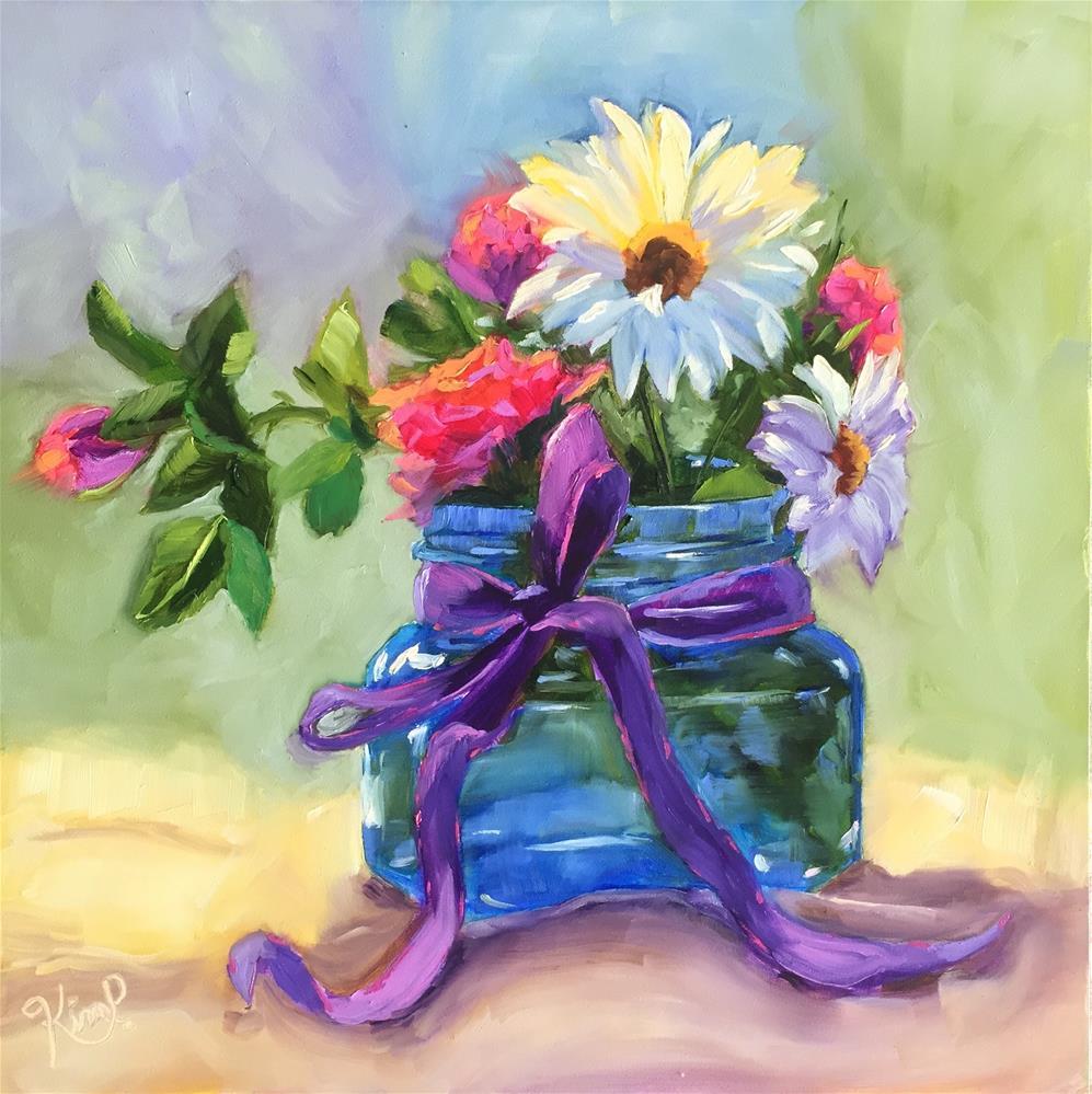 """""""Dream Love Paint """" original fine art by Kim Peterson"""