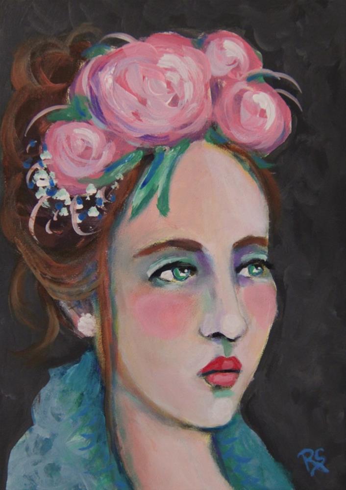 """""""Aimee"""" original fine art by Roberta Schmidt"""
