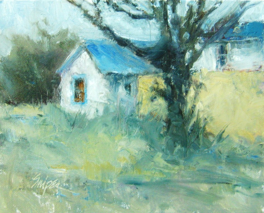 Afternoon Shadows original fine art by Connie Snipes