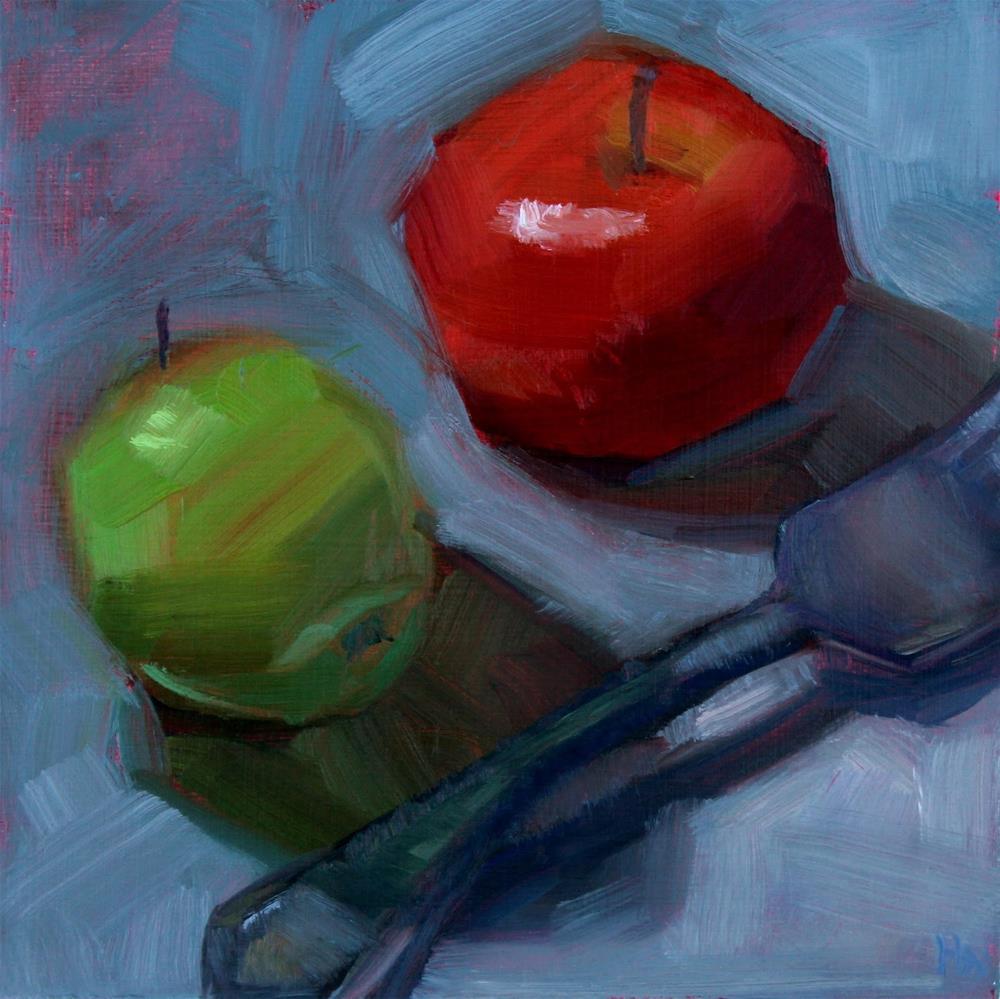 """Time to Eat"" original fine art by Heather Nibert"