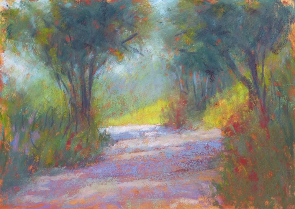 """Road Sketch #34"" original fine art by Rita Kirkman"