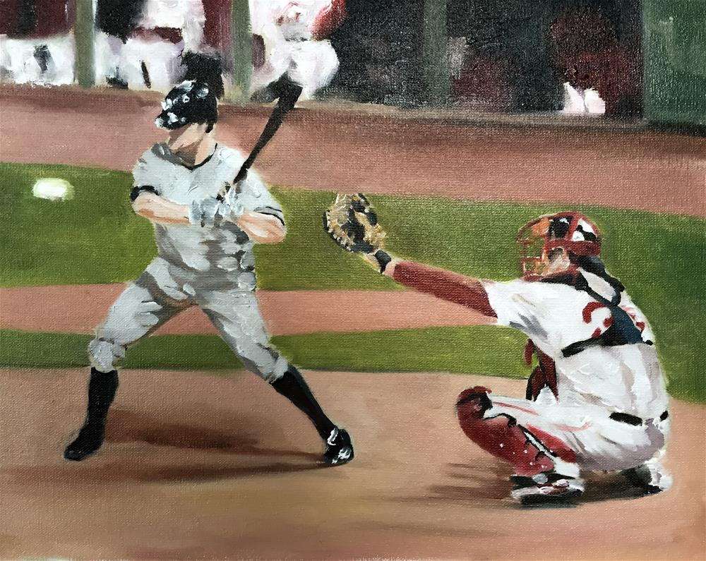 """Baseball"" original fine art by James Coates"