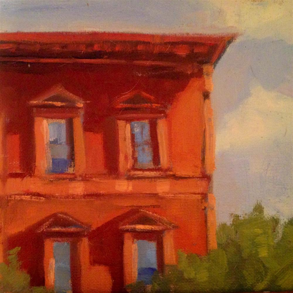 """Corner Apartment"" original fine art by Patty Voje"