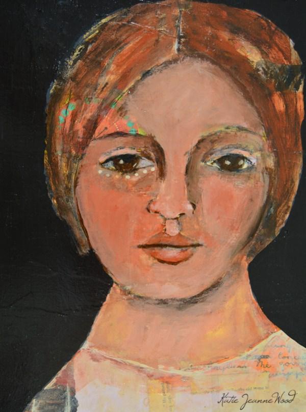 """""""Buttercup"""" original fine art by Katie Jeanne Wood"""