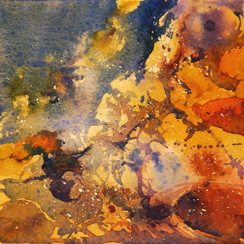 """rusty_5"" original fine art by Beata Musial-Tomaszewska"