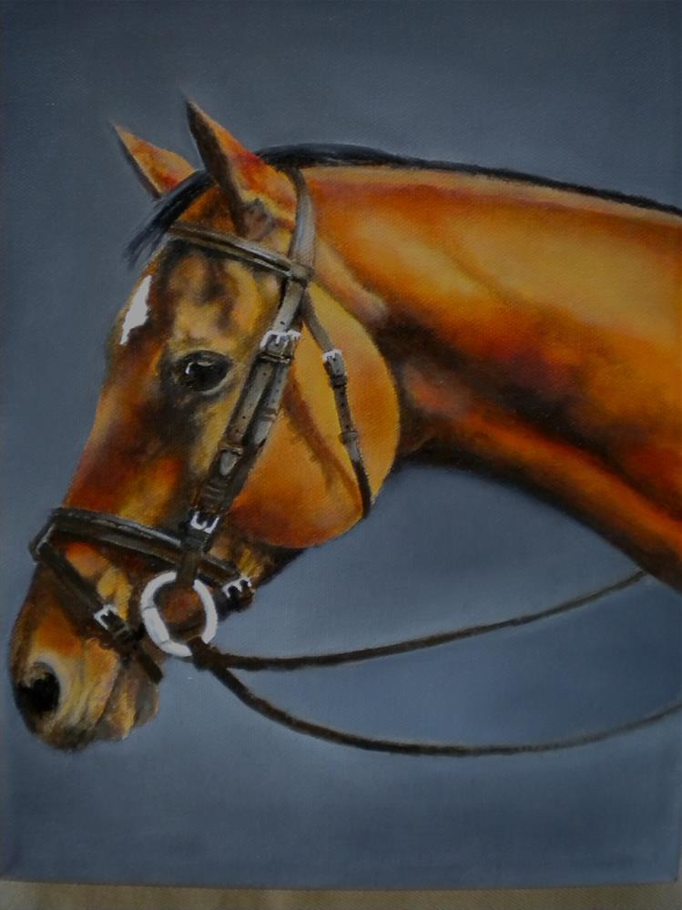 """Dreamer"" original fine art by Hilarie Johnson"