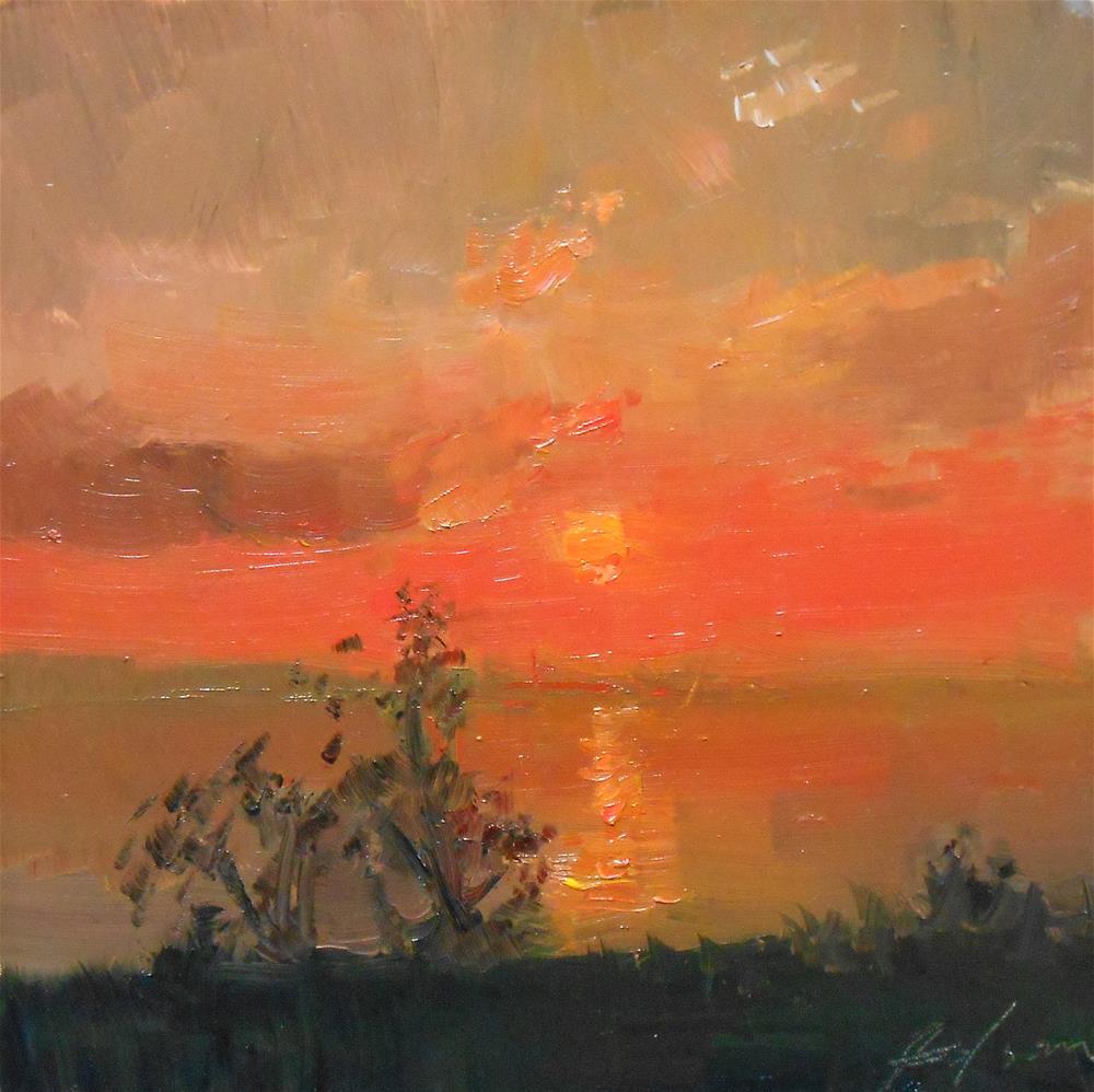 """""""Fan the Flame"""" original fine art by Kelli Folsom"""