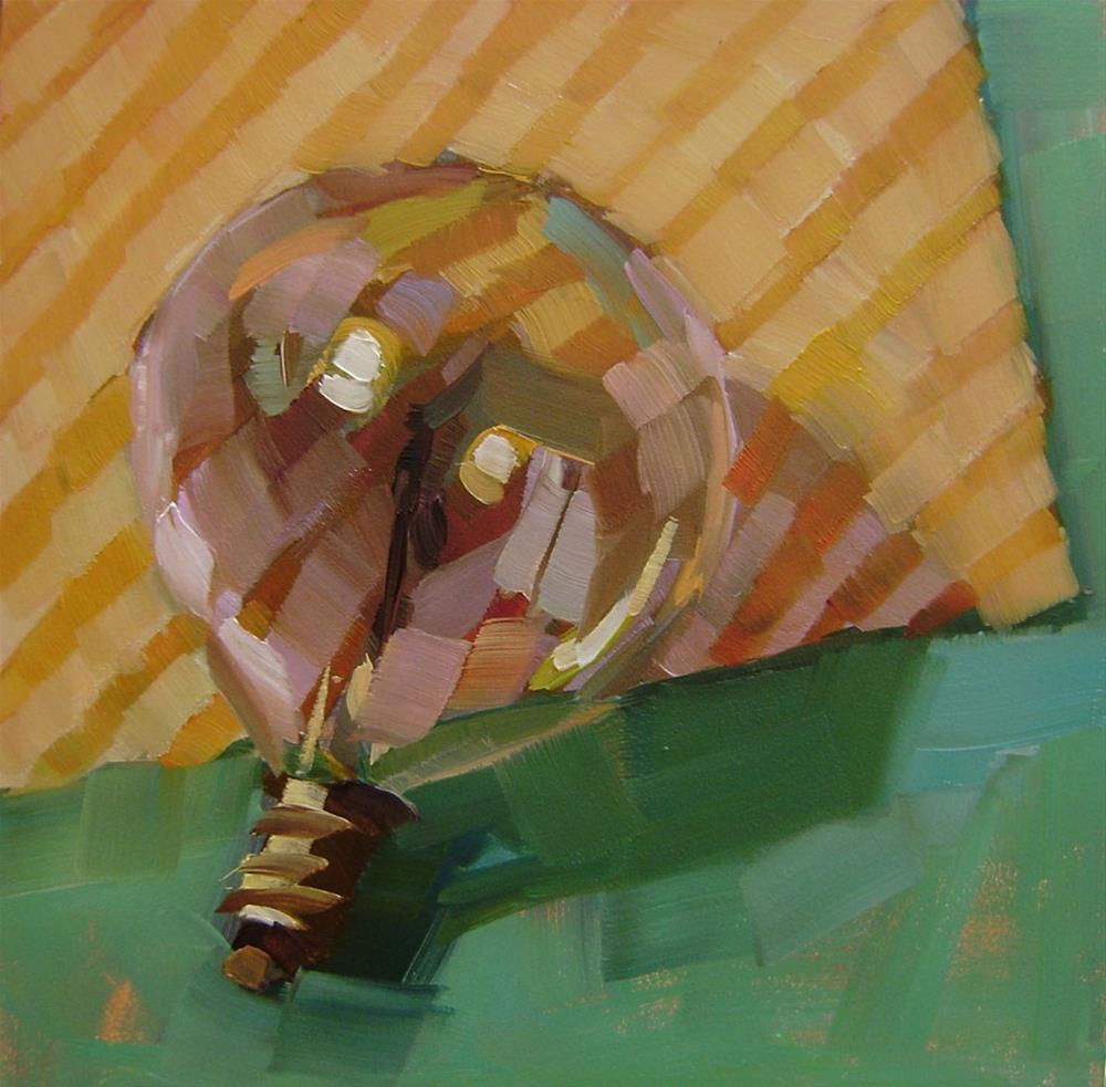 """Limelight"" original fine art by Holly Storlie"