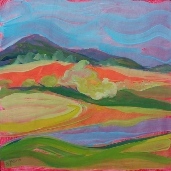 """Samaritan Drive 3"" original fine art by Pam Van Londen"