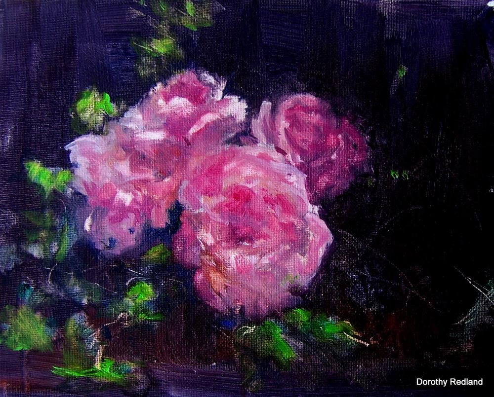 """A rose is a rose"" original fine art by Dorothy Redland"