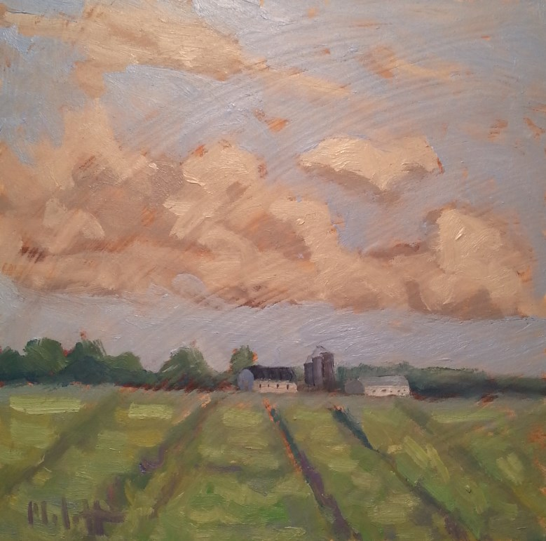 """Made in America Farm Life in the Heartland Original Painting"" original fine art by Heidi Malott"