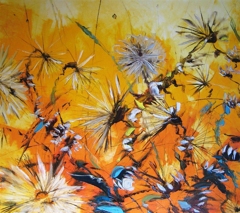 """Solar wind"" original fine art by Elena Lunetskaya"