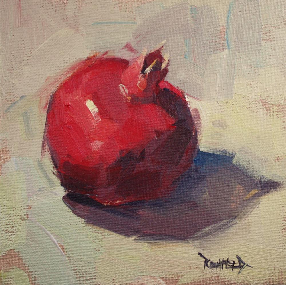 """One Pom"" original fine art by Cathleen Rehfeld"