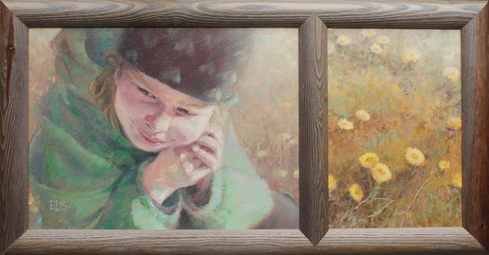"""April Coltsfeet"" original fine art by Emilia Leinonen"