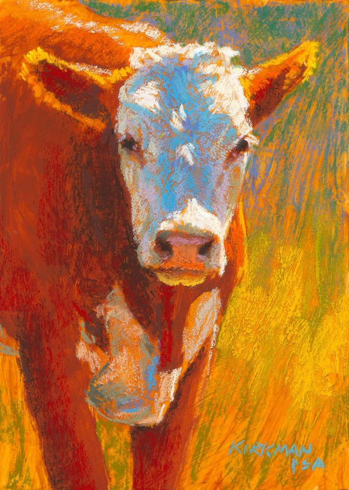 """Sunkist"" original fine art by Rita Kirkman"