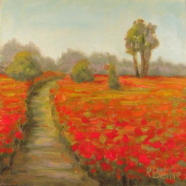 """""""Path to Health"""" original fine art by Robie Benve"""