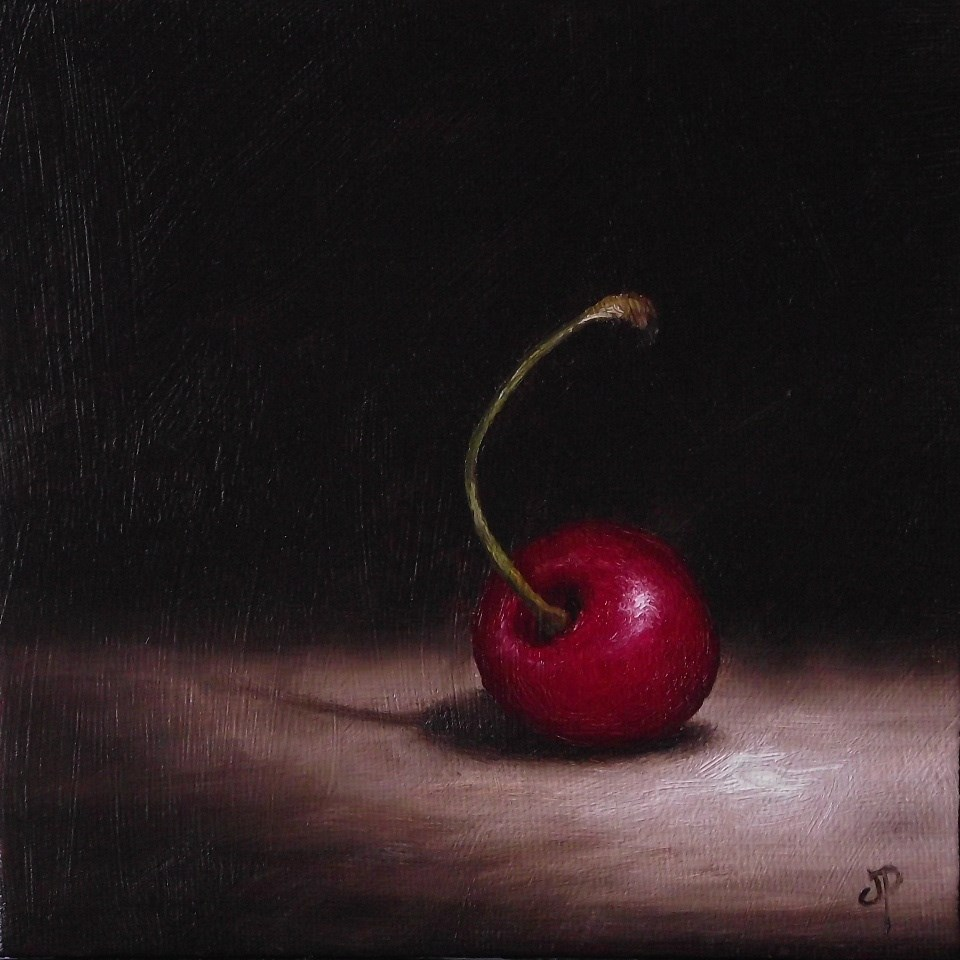"""Alone"" original fine art by Jane Palmer"