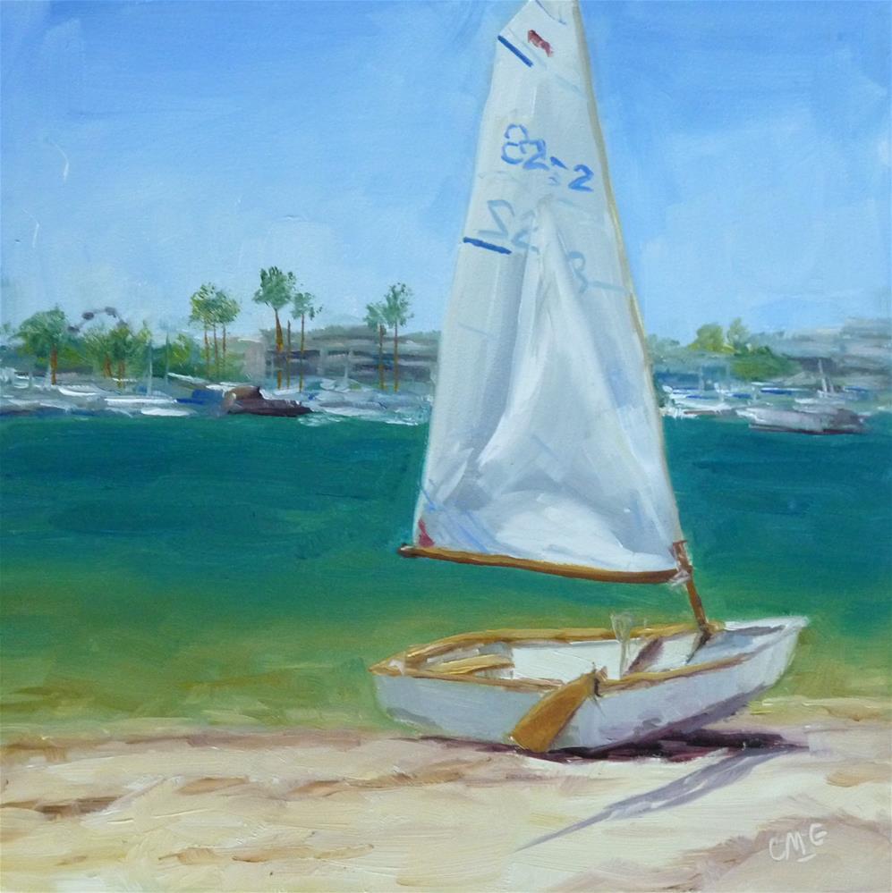 """Balboa for Two"" original fine art by Cindy Greene"