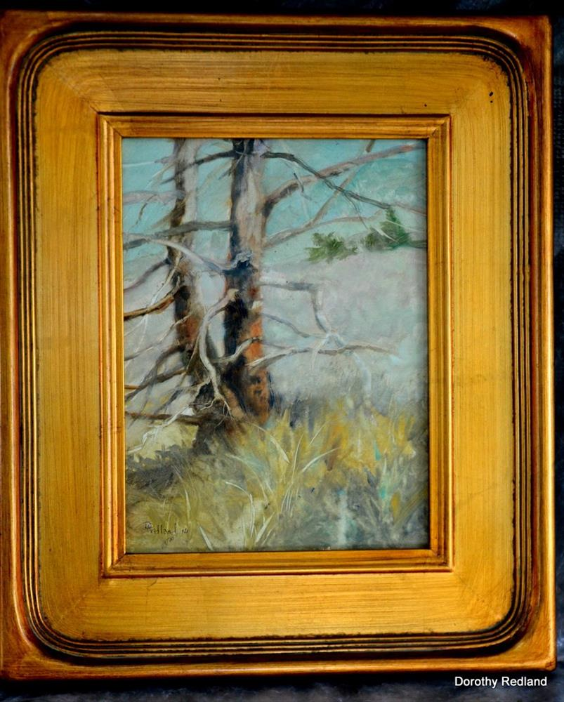 """High on a windy Hill"" original fine art by Dorothy Redland"