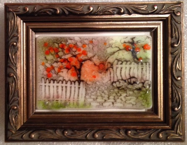 """Tiny Summer Garden Sketch"" original fine art by Kelly Alge"