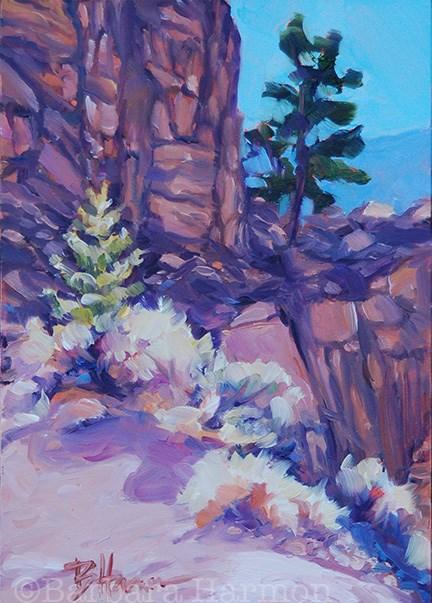 """Cody Canyon"" original fine art by Barbara Harmon"