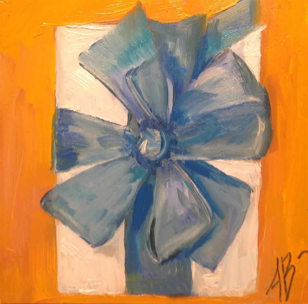 """Gift box # 1"" original fine art by Annette Balesteri"
