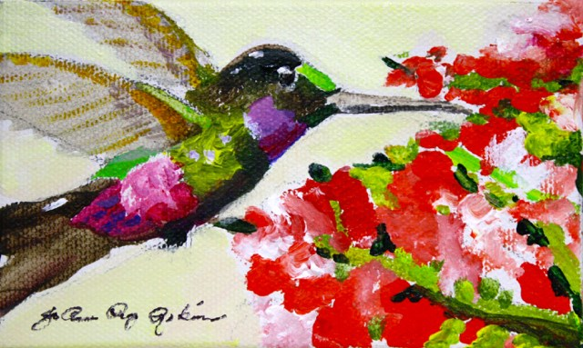 """Love"" original fine art by JoAnne Perez Robinson"