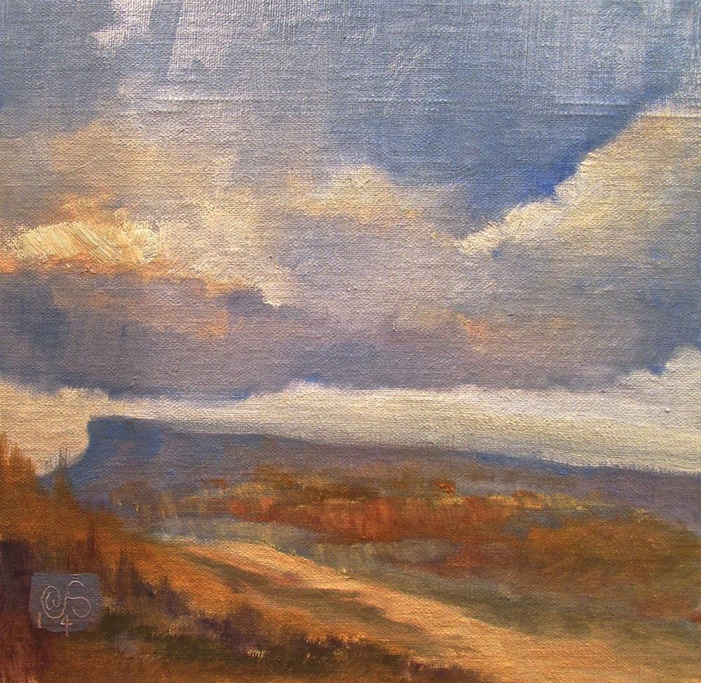 """""""Shawangunk Ridge"""" original fine art by Aurelio Saiz"""