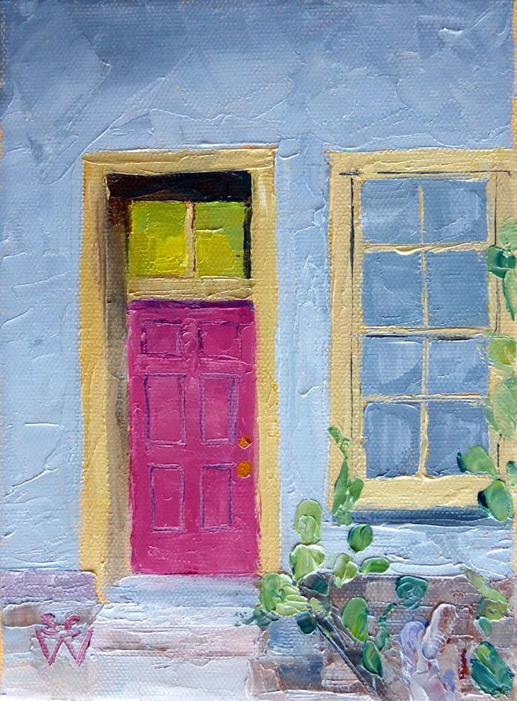 """Meyer Street #1"" original fine art by Susan Woodward"