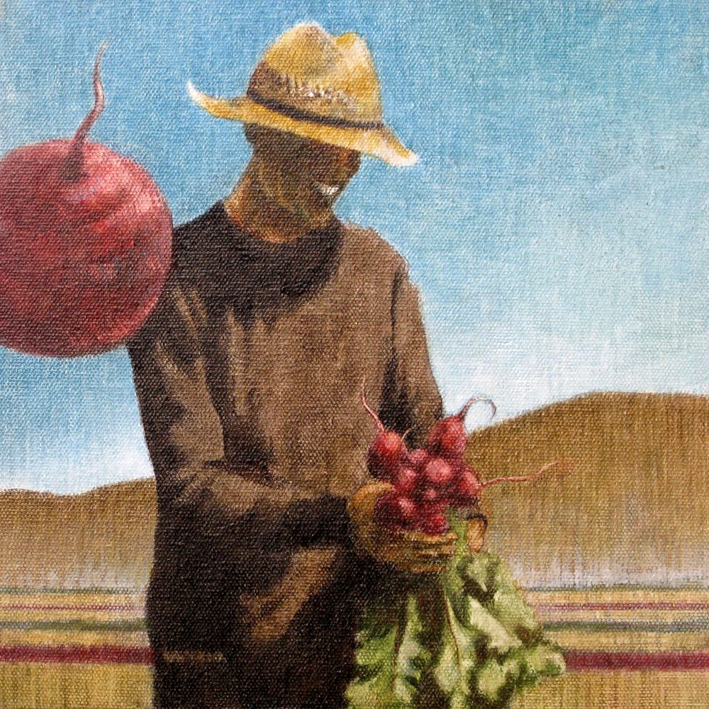 """Beets Me!"" original fine art by Ginger Pena"