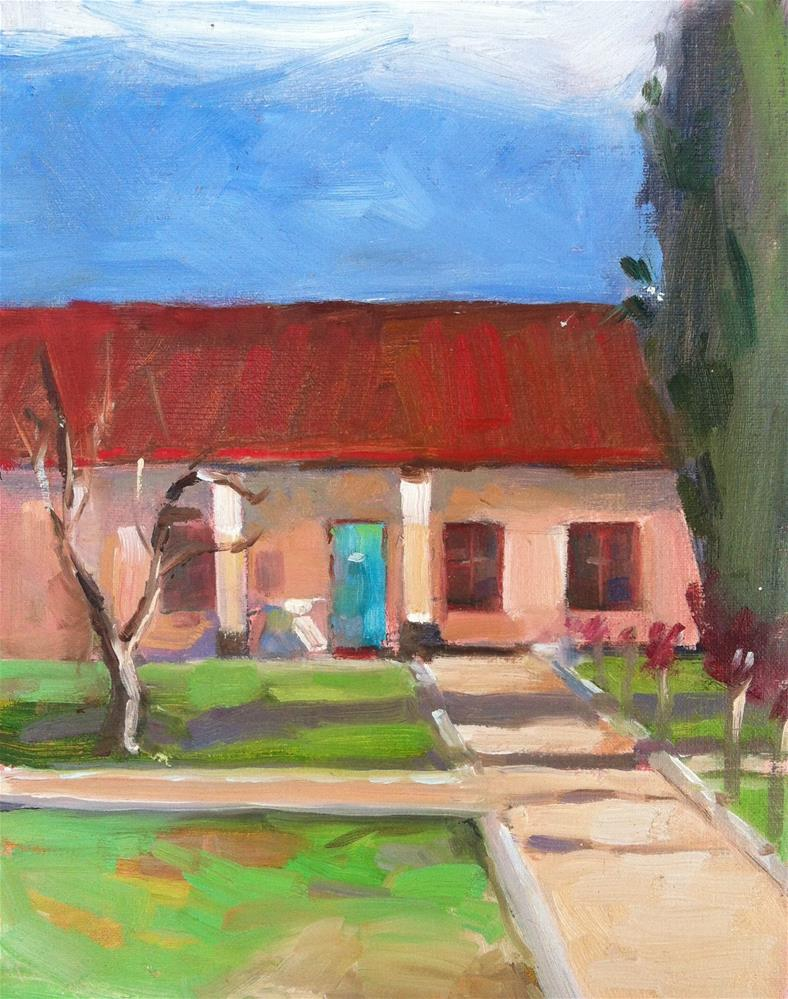 """Mission San Antonio de Padua, Paso Robles, California"" original fine art by Karla Bartholomew"