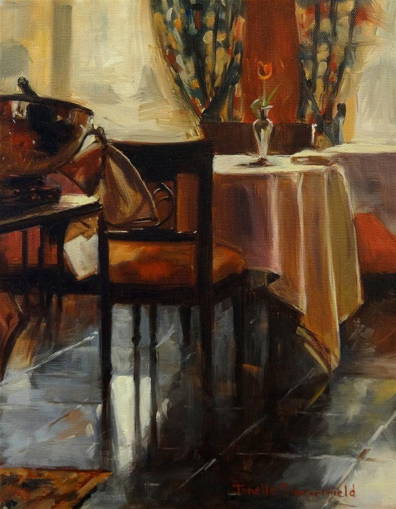 """Breakfast Room"" original fine art by Jonelle Summerfield"