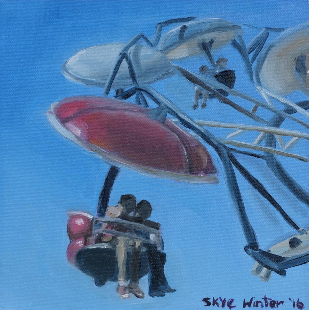 """Mid-State Fair"" original fine art by Skye Coddington"