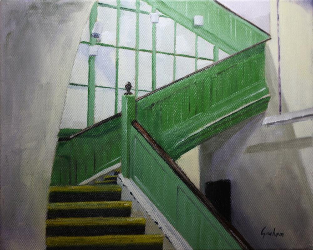 """""""Putney Bridge 2"""" original fine art by Graham Townsend"""