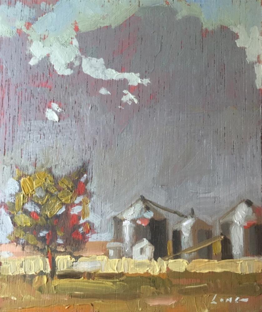 """Colby, Kansas"" original fine art by Chris Long"