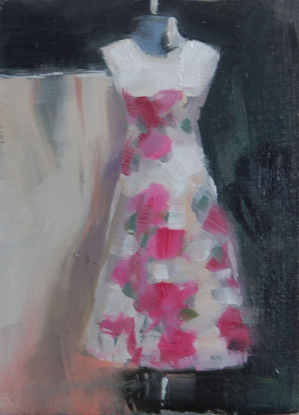 """Summer Frock"" original fine art by Patricia Canney"