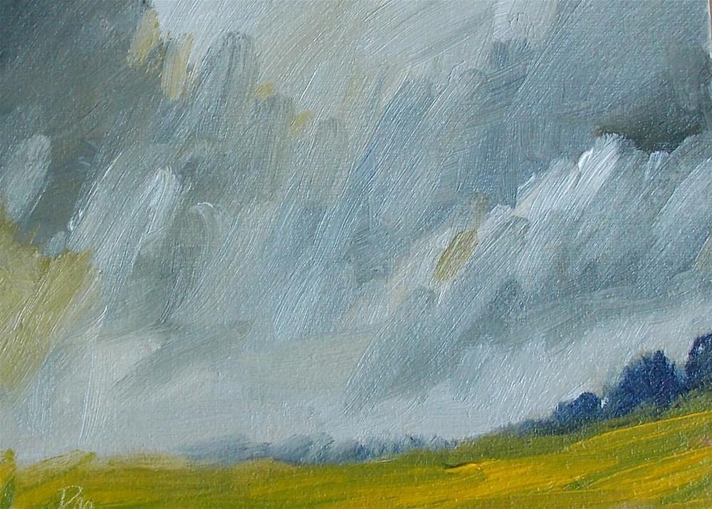 """March Wind"" original fine art by Pamela Munger"