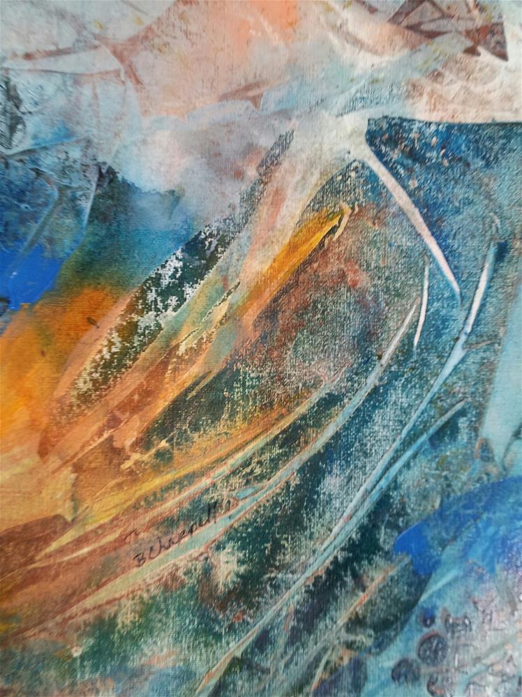 """""""Alpenglow"""" original fine art by Becky Chappell"""
