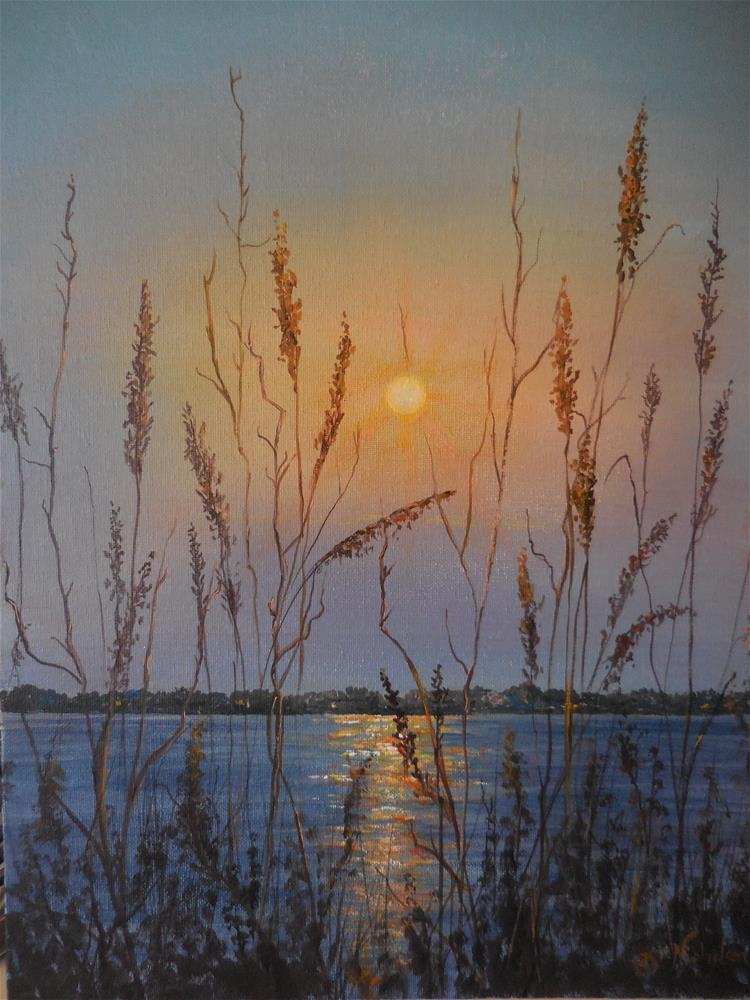 """The Eastern Shore"" original fine art by Terri Nicholson"